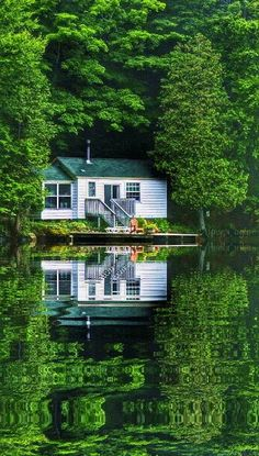 At waters edge Scenery Pictures, Nature Pictures, Cool Pictures, Beautiful Pictures, Beautiful Nature Wallpaper, Beautiful Landscapes, Beautiful Homes, Beautiful Places, Foto Gif