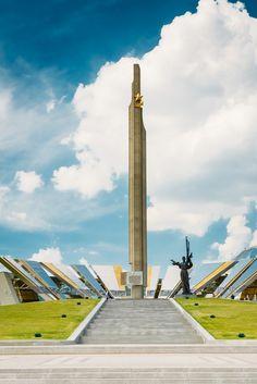 Museum of the Great Patriotic war in Minsk #Travel #Belarus