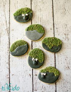 FROZEN Rock Troll Sugar Cookie Decorating Tutorial | Tikkido.com