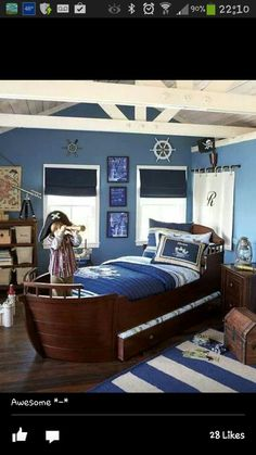 Pirate Ship Bed For Keagan, Homemade! | Kids | Pinterest | Pirate Ship Bed,  Pirate Ships And Ships