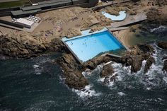 Gallery of These Stunning Photos Commemorate the 50th Anniversary of Alvaro Siza's Pool On The Beach - 1