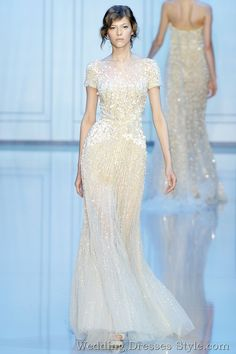 Gorgeous attire for Wedding --Elie Saab 2011 FallWinter Haute Couture Collection (7)