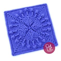 The latest square in the Stardust Melodies crochet along is Don't Get Around Much Anymore. This is definitely one of my personal favorites from the series. The pattern is exclusive to the Stardust Melodies ebook which can be purchased on Ravelry. Crochet Blocks, Granny Square Crochet Pattern, Crochet Squares, Crochet Granny, Crochet Blanket Patterns, Crochet Motif, Crochet Stitches, Free Crochet, Granny Squares