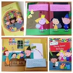 New #personalised ben and holly birthday book. Order your copy today