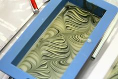 This is only one of many gorgeous swirls! Who IS this soapmaker?!!