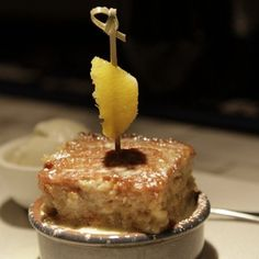 Bread pudding from Braai in Mafia, Pudding, Nyc, Restaurant, Bread, York, Dishes, Dining, Country