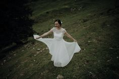 @claudiaweaverphotography posted to Instagram: A bride with angle wings. #instawedding #weddingday #weddingphotography #weddingplanning #congrats #unforgettable #isaidyes #weddingdecor #celebration #weddings #weddingseason #weddinginspo #elopementphotographer #bohobride #mountainwedding #berghochzeit