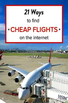 21 ways to find cheap flights on the internet