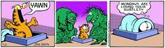 Garfield comic strip - Monday