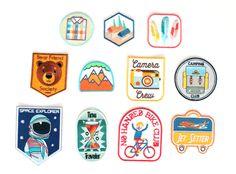 Custom patches by ZipperTeethShop.