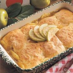 Healthy Apple Cobbler- I made this for dessert tonight and it was easy and delicious!!! Needed more apples though.