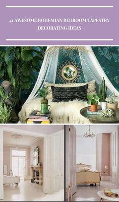 #bohemianbedroom Salle de Bain pour Enfants 41 Awesome Bohemian Bedroom Tapestry Decorating Ideas