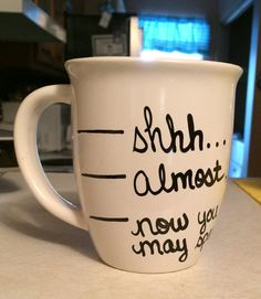 Now You May Speak Coffee Mug by BowAndArrowCrafting on Etsy, $14.95