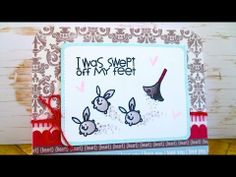 Christy Gets Crafty Video   Loads of Love Card Series #3