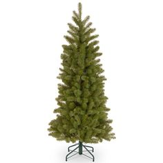 4.5ft Bayberry Spruce Pencil Feel-Real Artificial Christmas Tree