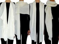 Colete de tricô multifuncional off white da marca Coleteria ♡ - Coletes femininos e infantis - Coleteria   sempre♡