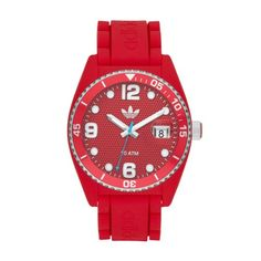 Brisbane Adidas Originals red watch