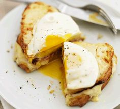 """Cheats"" Croque Madame from a website with other great egg creations!!"