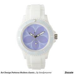 Art Design Patterns Modern classic tiles Beautiful Wrist Watch
