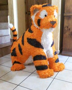 tiger pinata - this might be too cute to hit! :(