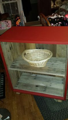 Cool red cabinet