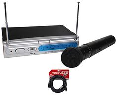 Peavey PV1 U1 HH 90600MHZ UHF Wireless Handheld Microphone SystemXLR Cable *** Click image for more details.
