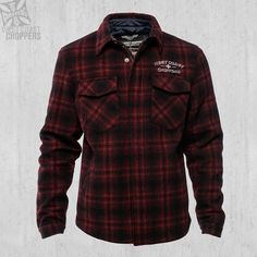 Quilted Gang Jacket – West Coast Choppers