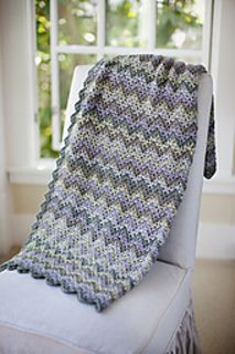 Vintage Crocheted Throw & Afghan by Churchmouse Yarns and Teas Pattern available for $5