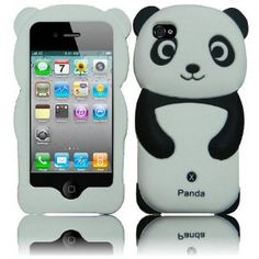 This panda looks nice, and it fits the iphone perfectly. I definitely recommend this case. It also makes a great gift. My friend, whom i bought this for, loves it.