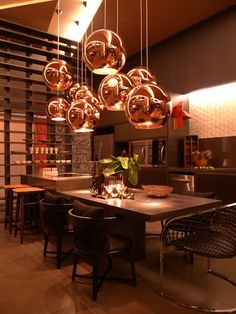 Oficina de Arquitetura: Luminárias - Tom Dixon