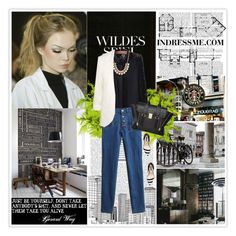 """""""Pic 191- """"Black and white"""" - Set No.4- Indressme"""" by dangkimhoang ❤ liked on Polyvore"""