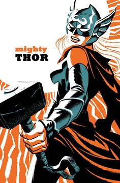 Mighty Thor variant cover by Michael Cho *