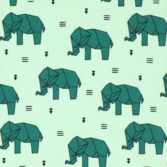 Single Jersey Origami Olifant 2 - Jersey digitale printfavorable buying at our… Origami Elephant, Jersey, Sewing Ideas, Fabrics, Stuff To Buy, Shopping, Impressionism, Printing, Tejidos