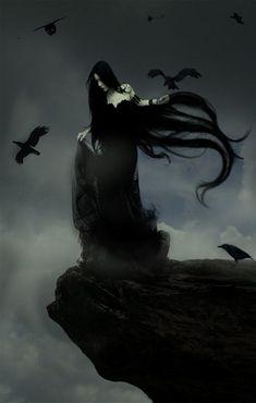 61 Ideas dark art fantasy gothic for 2019 Dark Fantasy Art, Dark Gothic Art, Fantasy Kunst, Gothic Artwork, Dark Artwork, Dark Beauty, Gothic Beauty, Vampires, Creation Image