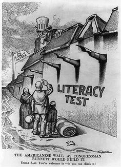 (Print, The Americanese wall - as Congressman [John Lawson] Burnett would build it, 1916, Library of Congress, http://hdl.loc.gov/loc.pnp/cph.3b00563 ) How have U.S. attitudes toward immigration changed over time? Teachinghistory.org takes a look. Click the image to learn more!