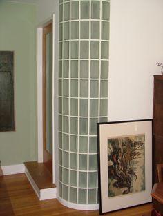 art deco glass brick curves - Google Search