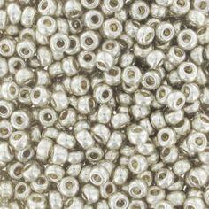 Miyuki Seed beads Duracoat 11/0 4201 - Galvanized Silver