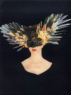 Leonor Fini 1946 Feathers Mask