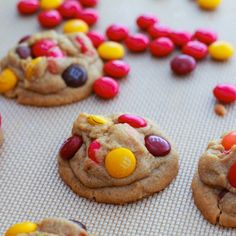 M peanut butter cookies