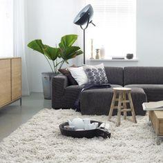 Met zo'n vloerkleed zit je even graag op de grond als in de zetel !