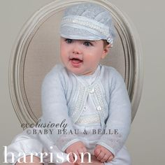 Handcrafted from sizes newborn to young toddler, our heirloom baby boys clothes are perfect for any special occasion Baby Boy Christening Outfit, Baby Boy Sweater, Fancy Gowns, Classic Outfits, Baby Boy Outfits, Infant, Knitting, Head Coverings, Sweaters