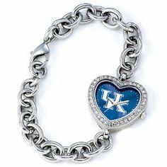 Ladies University of Kentucky Heart Watch Jewelry Adviser Watches. $60.00