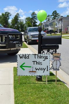 first birthday where the wild things are theme - Google Search