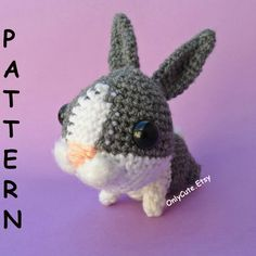 Amigurumi Dutch Rabbit Pattern PDF by OnlyCute on Etsy, $6.00