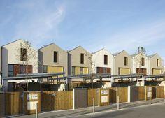 25 maisons individuelles , Garges-lès-Gonesse, MDNH Architectes - Realisation