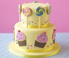 Cupcake-en-snoep-taart