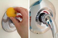 3 astuces de grand-mère pour venir à bout des traces de calcaire sur vos robinets