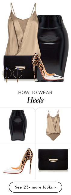 """""""Untitled #4041"""" by janicemckay on Polyvore featuring Michelle Mason, Christian Louboutin and Isabel Marant"""