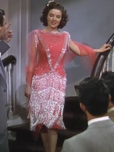 "Helen Rose designed costume in ""Good News"", 1947 (doing 1920s)"