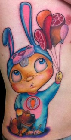 Ed Perdomo   Cartoon   Tattoo   Style   Custom   Color   Sketch   Unique   Character   Design  CHECK OUT THE EXCLUSIVE INTERVIEW: http://www.skin-artists.com/exclusive-interview-with-ed-perdomo.htm